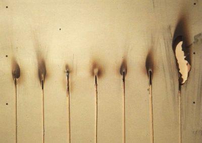 bernard aubertin - dessin de feu