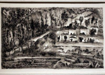 Der letate Gruss, olio su carta, 16x24 cm, 2008