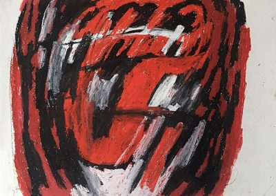 Karl-Stengel_senza titolo_pastels on paper_98x97cm_2013