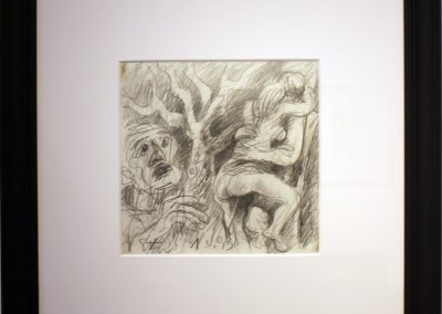 Disegni 1. V, carboncino, 1993